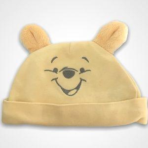 4/$20🥳 Disney Winnie The Pooh Yellow Infant Cap